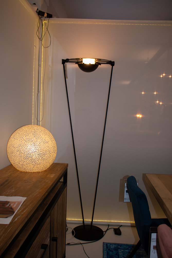 74. Staande lamp